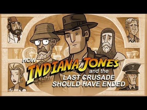 How Indiana Jones and the Last Crusade Should Have Ended