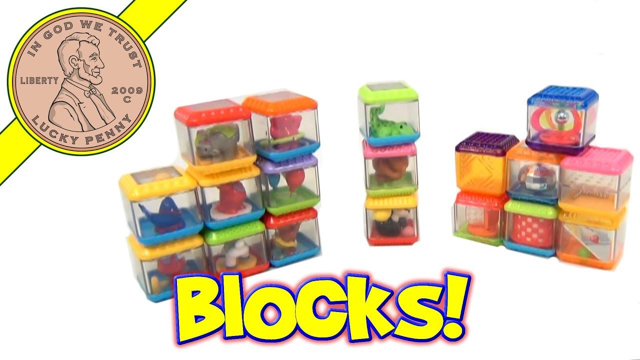 Fisher-Price 18 Peek-A-Boo Blocks Mixed Sets - Animals - Zoo - Circus - YouTube