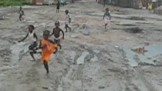 Arriving In Pro Longe Haiti