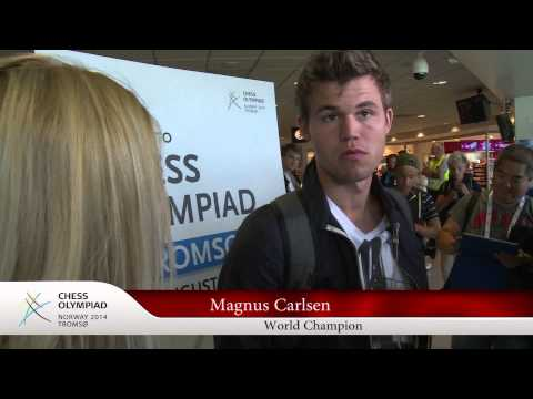 Chess Olympiad Preview Show: MAGNUS CARLSEN ARRIVES!