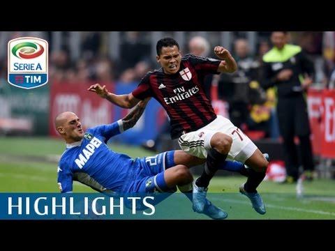 Milan - Sassuolo 2-1 - Highlights - Giornata 9 - Serie A TIM 2015/16