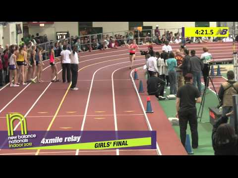 G 4xMile H03 (part 1 Adrenaline Tc-De 20:00.97 * #2 all-time, HS Indoor Nationals 2012)
