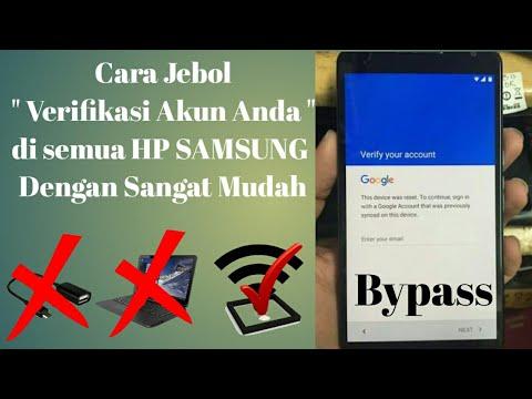 Bypass Google Account Samsung Cara Buka Verifikasi Akun Di All Type