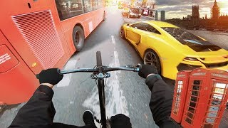 LONDON STREET TOUR auf den MTB BIKES!