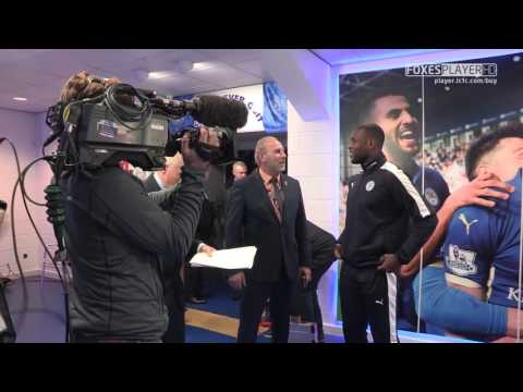 TUNNEL CAM | Leicester City vs Crystal Palace 2015/2016