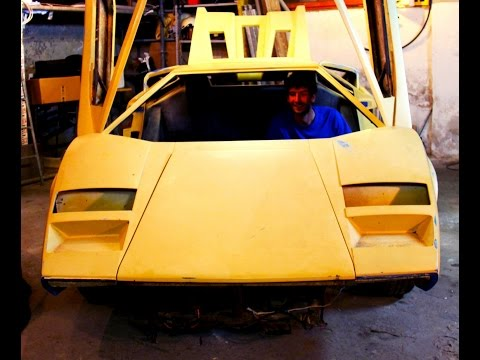 Countach Replica v6 Turbo (1° parte) - Davide Cironi drive experience