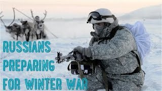 Russian Army Goes Native In Freezing Conditions: It's Not Russian Winter, It Is Russians