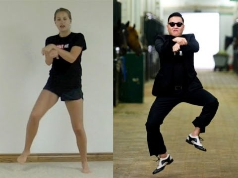 Psy 'gangnam Style' Dance Tutorial video