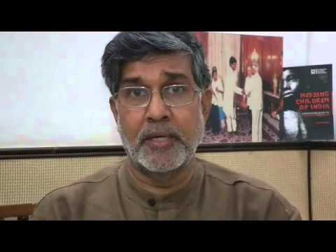 Kailash Satyarthi's video for side event at UN Forum for Business and Human Rights, June 2013 Geneva