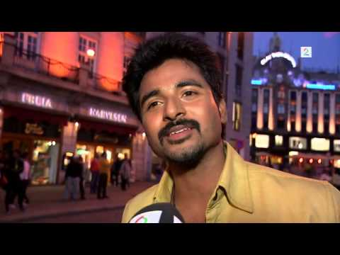 Tamil Actor Siva Karthikeyan At Narvey With His Fans video