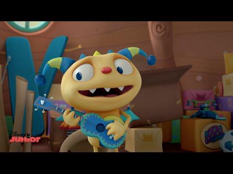 Henry Hugglemonster - Wrong Direction Song - Official Disney Junior UK HD