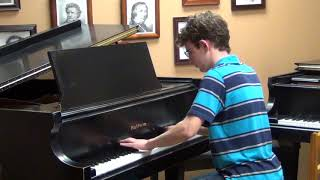 Chopin Prelude in C sharp minor, Op 45, played by David Wright