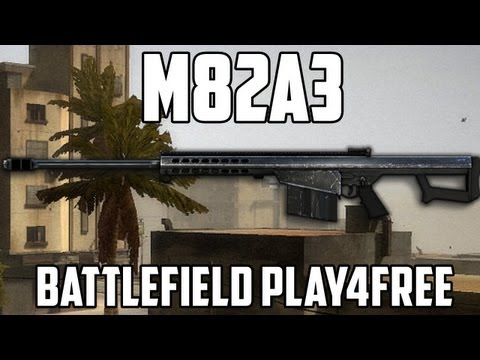 Battlefield Play4free M82A3 Gun Review