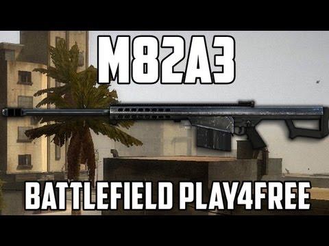 Battlefield Play4free M82A3 Gun Review