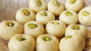 Kesar Peda : Indian Milk Dessert Recipe