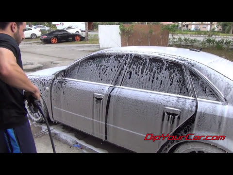 Peeling Plasti Dip off a Whole Car