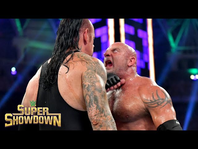 Goldberg drops The Undertaker with two brutal Spears: WWE Super ShowDown 2019 thumbnail