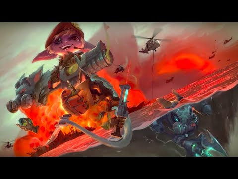 League of Legends Official Omega Squad 2017 Skins Trailer