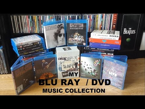 My Blu Ray/DVD Music Collection