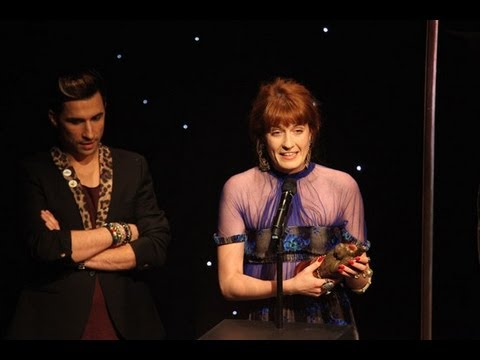 Florence Welch Wins Best Solo Artist At The NME Awards 2013