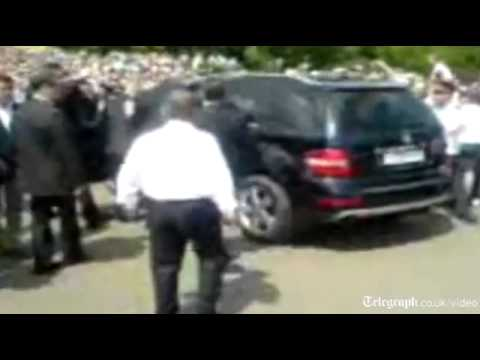 Dmitry Medvedev Car Video Goes Viral In Russia