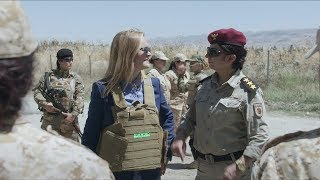 Meet The Badass Peshmerga Women | August 9, 2017 Act 3 | Full Frontal on TBS