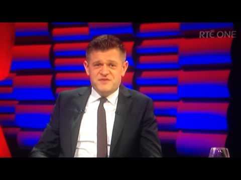 Brendan O'Connor calls heckler a clown