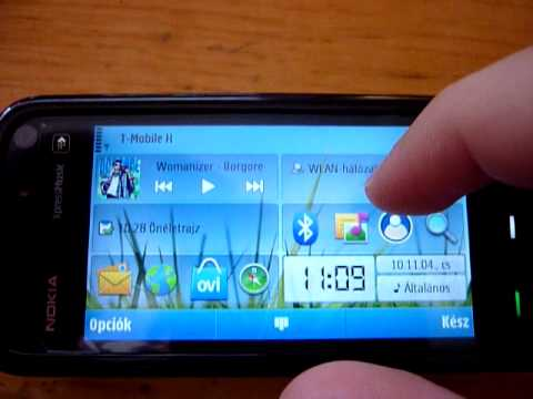 Nokia 5800 with C6 firmware 2