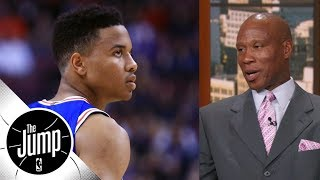 Byron Scott says Markelle Fultz showing lack of confidence in shot | The Jump | ESPN