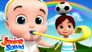 If You're Happy And You Know It | Nursery Rhymes And Kids Songs | Baby Rhyme By Junior Squad