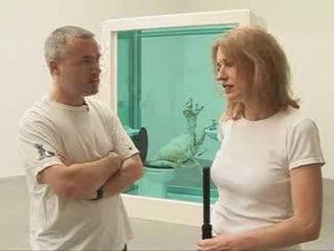 "Damien Hirst talks about ""A Thousand Years"""