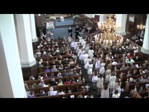 Konfirmation i Helligaandskirken 2012