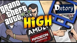 Grand Theft Auto V На AMD Radeon HD 7600M Series(Высокий)