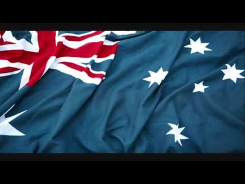Australia National Anthem (with lyrics)