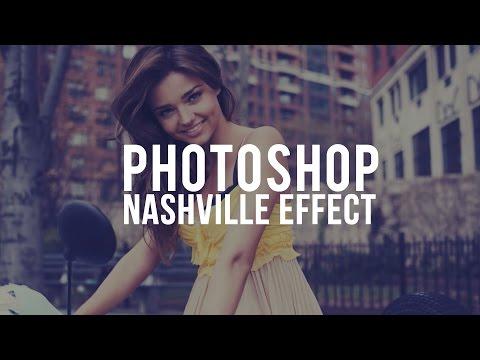 Instagram Nashville Effect | Photoshop CS6 Tutorial