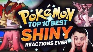 TOP 10 BEST SHINY POKEMON REACTIONS EVER! Best Pokemon Shiny Reactions w/ aDrive! Pokemon Sun Moon