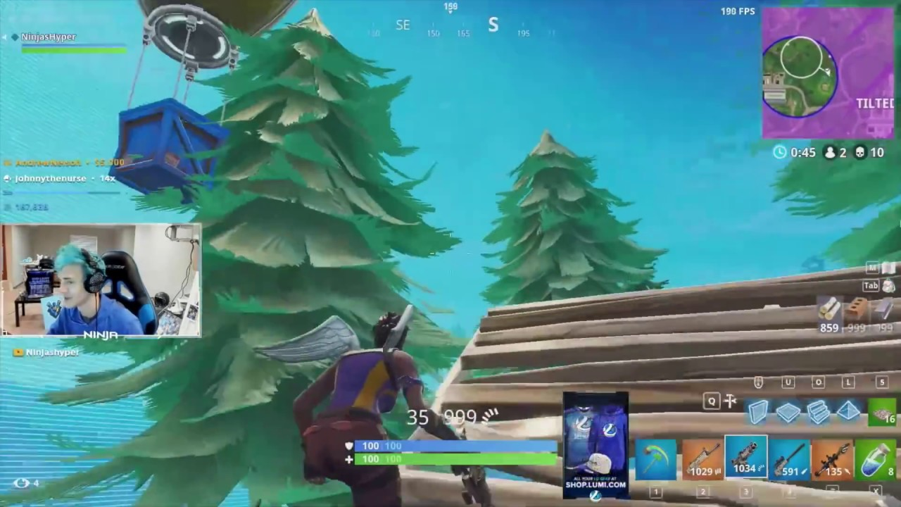 Watching video FORTNITE: NINJA'S SOLO STATS REVEALED (SO ...