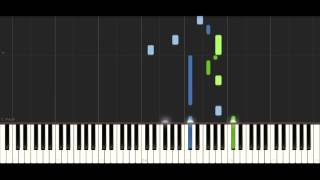 Alan Walker x David Whistle - Routine - PIANO TUTORIAL