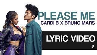 Cardi B & Bruno Mars - Please Me | Lyric Video
