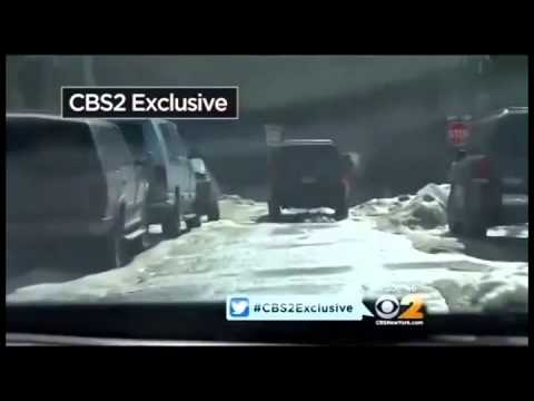Bill de Blasio violates traffic laws
