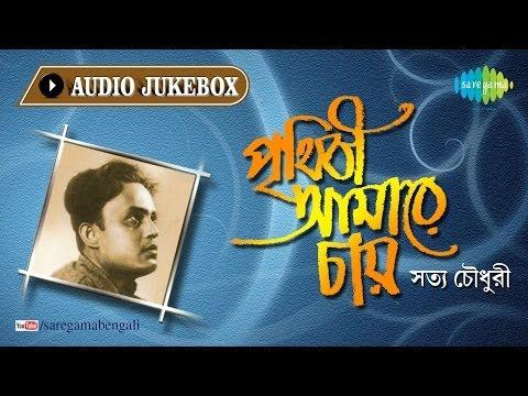 Prithibi Amare Chay | Bengali Modern Songs & Patriotic Songs | Satya Chowdhury | Audio Jukebox