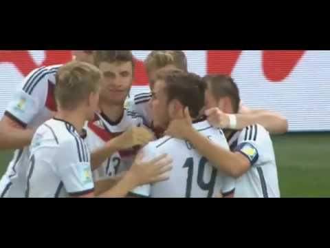 Mario Gotze Game Winning Goal VS Argentina