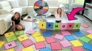 GIANT SPELLING GAME!! I'LL BUY Whatever You Can SPELL Challenge!!!
