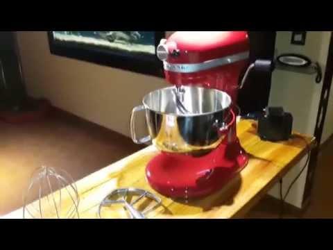Batidora KitchenAid Professional 600 6 qt mixer Argentina español