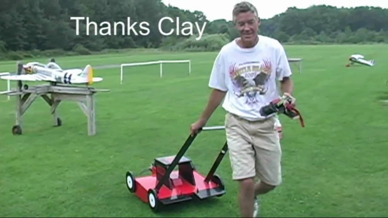 Flying Lawn Mower Youtube