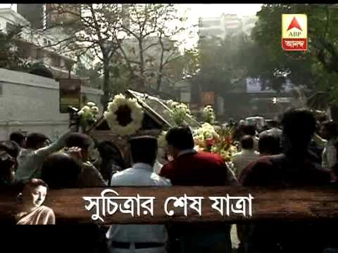 Last journey of Suchitra Sen.