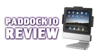 PadDock 10 Review - Stand & Stereo Dock for the New iPad / iPad 2
