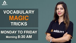8:30 AM - English Tricks - English - Vocabulary Magic Tricks - Part - 1