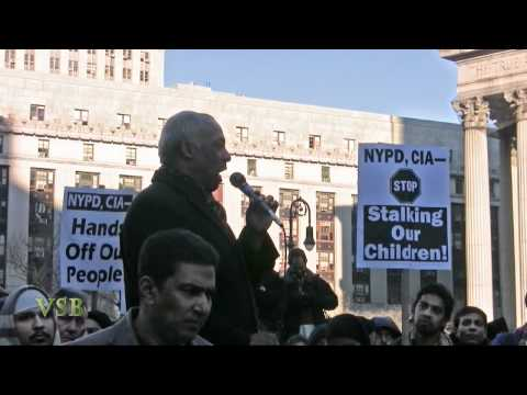 THE MUSLIM UMMA (Anti- NYPD) Rally IN NYC - Part 3