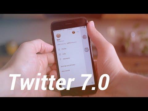 Twitter 7.0 Update: Huge Redesign!